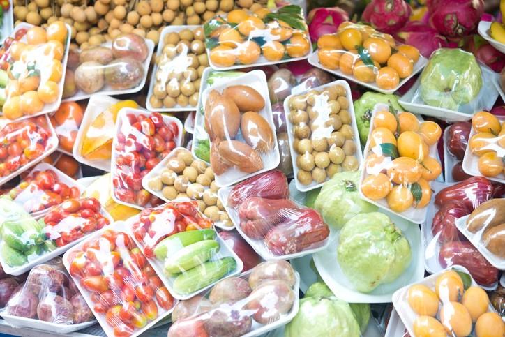 بسته بندی میوه و سبزیجات